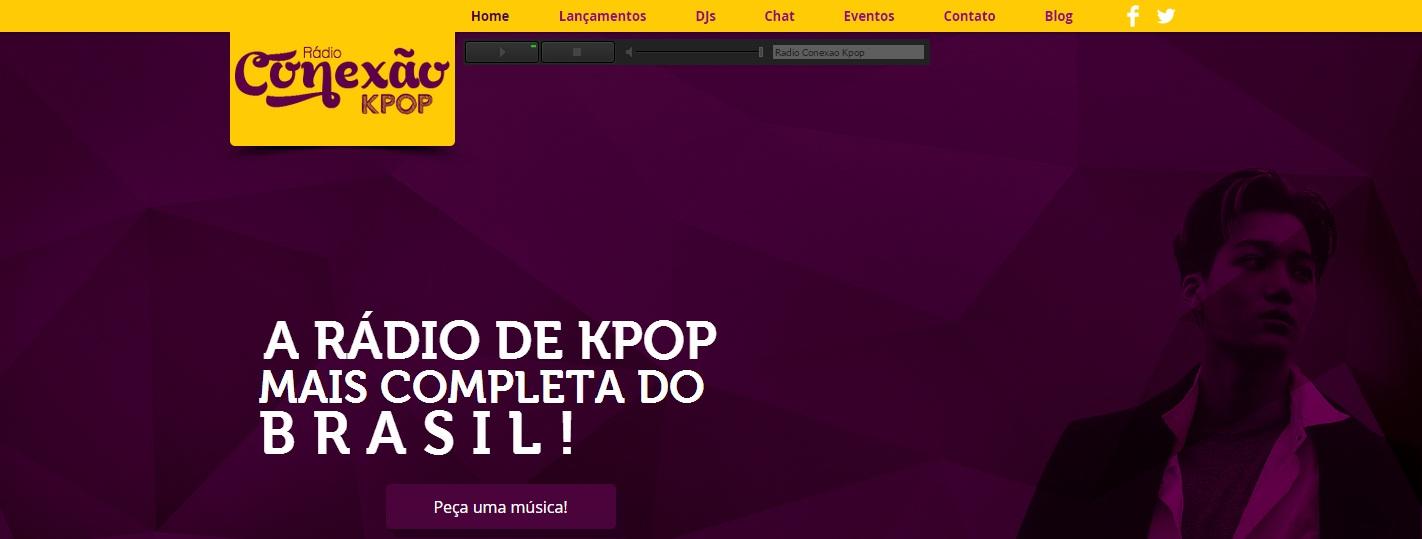 rádio k-pop conexao pop