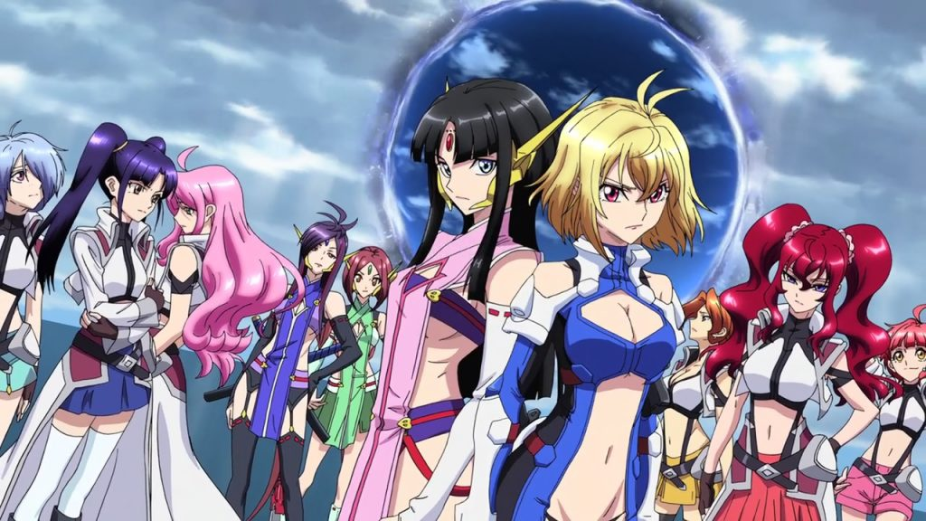Cross Ange - Ecchi