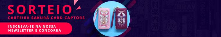 Sorteio Carteira Sakura Card Captors