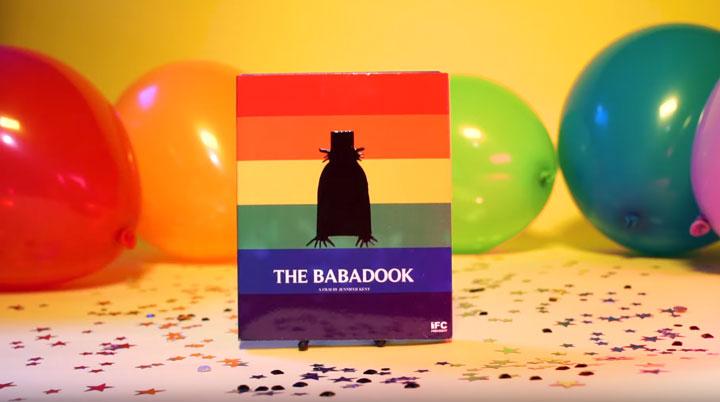 Versão Orgulho gay do Bluray de The Babadook
