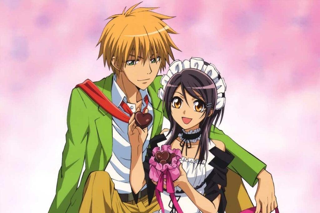 Animes com romance e comédia