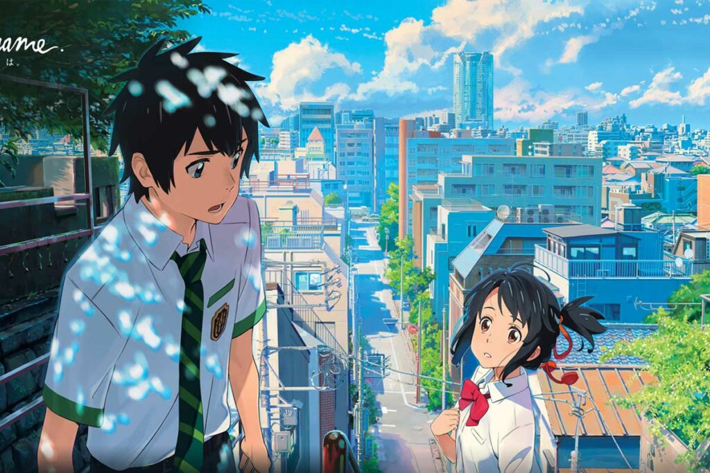 Animes com romance na netflix
