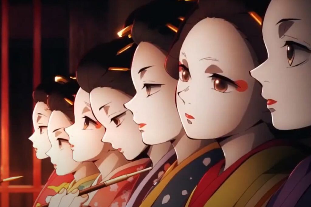 Cena da 2ª temporada de Kimetsu no Yaiba