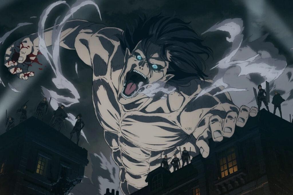 Cena do Anime Shingeki no Kyojin