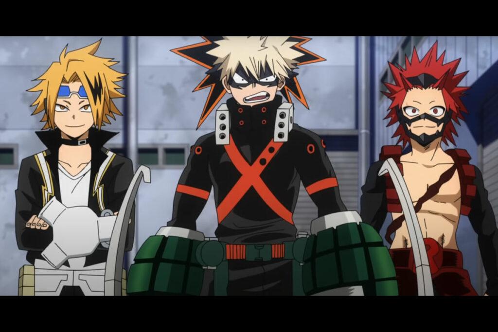 personagens 5 temporada de Boku No Hero