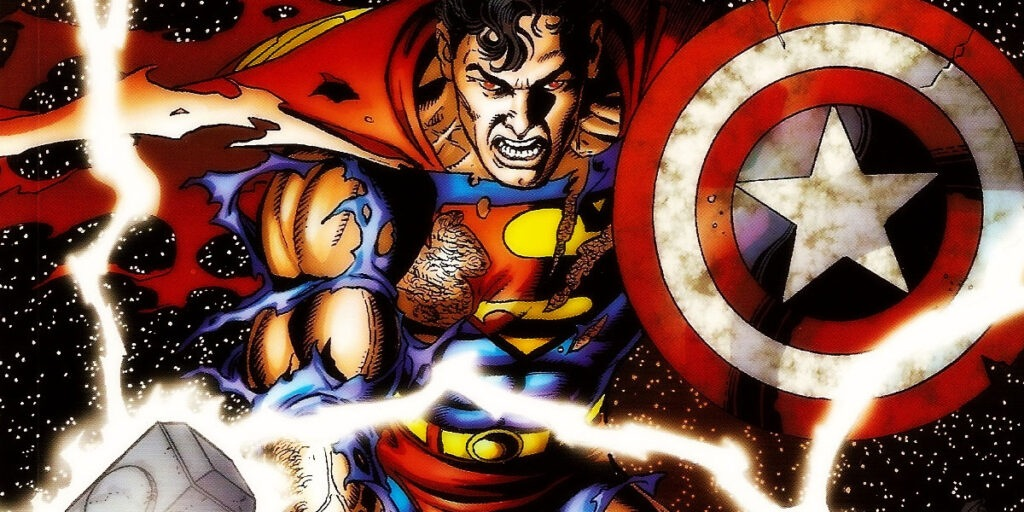 Superman como capitão américa