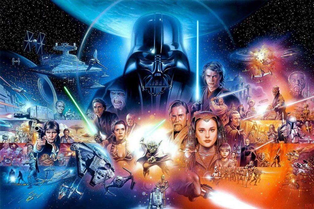 Filme Star Wars ou Guerra nas Estrelas