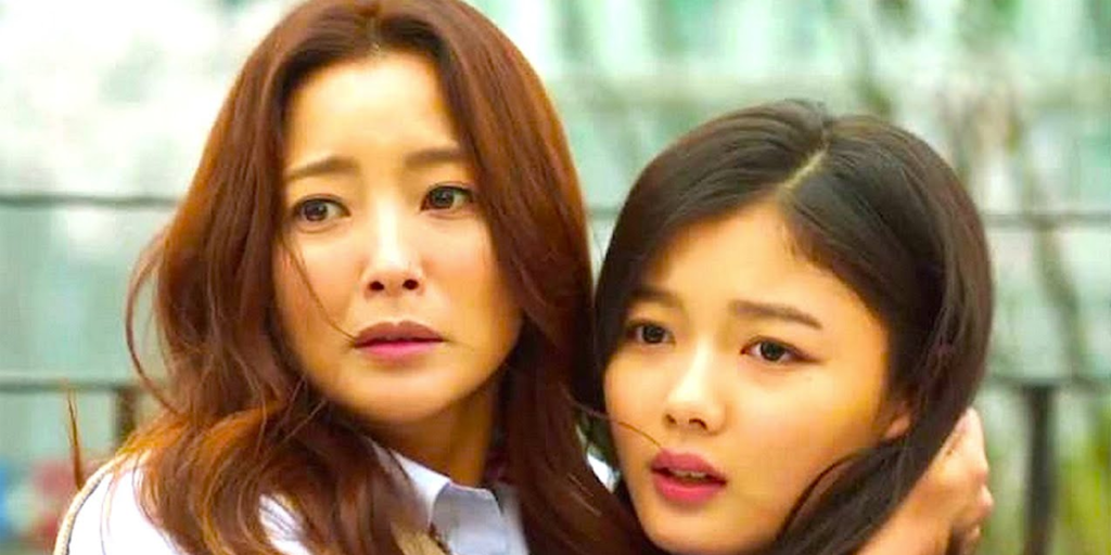 Mãe e filha no k-drama Angry mom