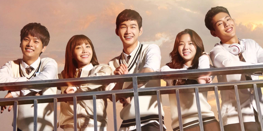 Personagens do Drama Coreano Sassy Go Go