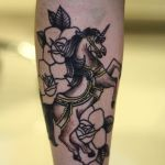 Tatuagem de Unicórnio
